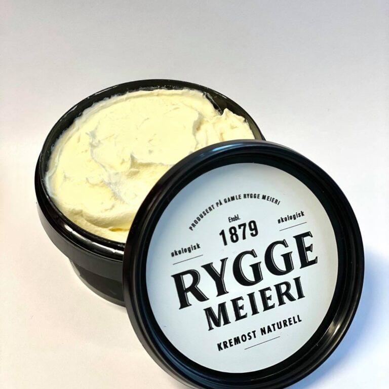 Kremost naturell fra Rygge Meieri