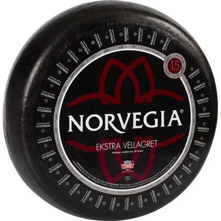 Norvegia ekstra vellagret fra ostehjul