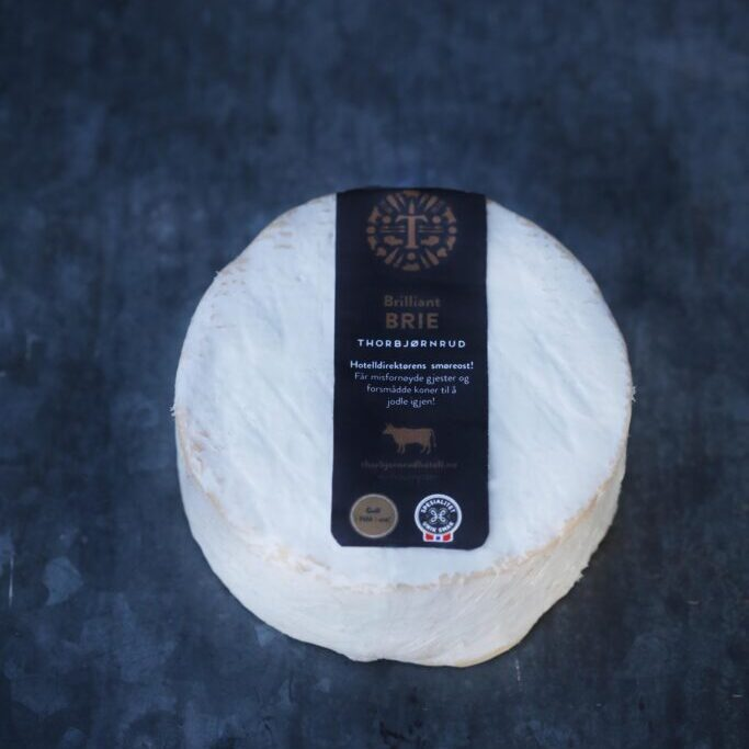 Brilliant Brie fra Thorbjørnrud Ysteri