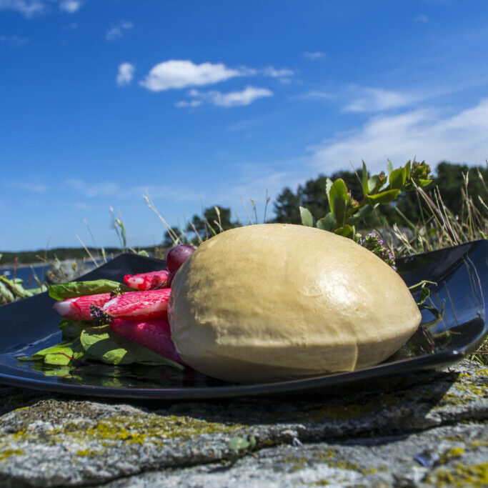 Røkt Sørlandsk Mozzarella fra Osteverkstedet